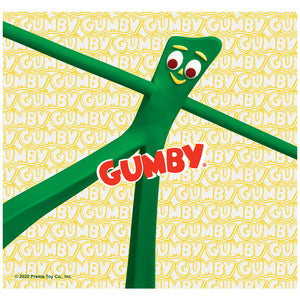 Gumby Stretched Adult Mask Design Full View