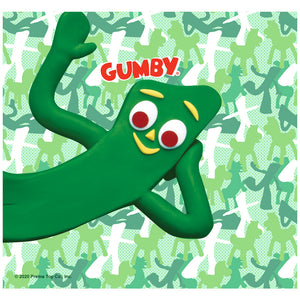 Gumby Camouflage Adult Mask Design Full View