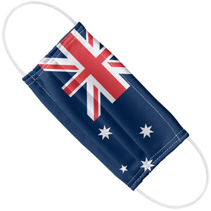 Load image into Gallery viewer, Australian Flag Adult Flat View