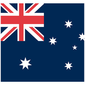 Load image into Gallery viewer, Australian Flag Adult Mask Design Full View