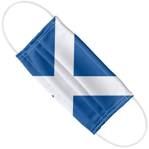 Load image into Gallery viewer, Scotland Flag Adult Flat View