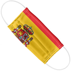 Spain Flag Adult Flat View