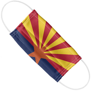 Arizona Flag Adult Flat View