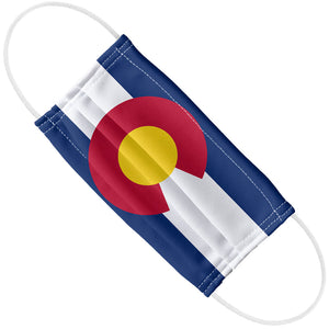 Colorado Flag Adult Flat View