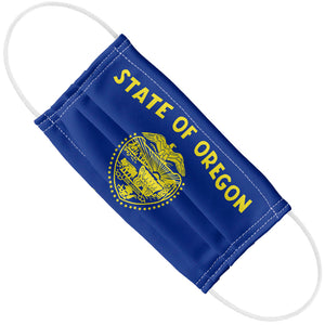 Load image into Gallery viewer, Oregon Flag Adult Flat View