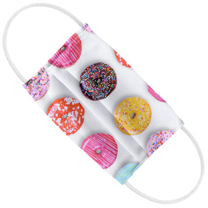 Colorful Donut Pattern Kids Flat View