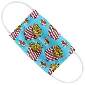 Large Order of French Fries Pattern Kids Flat View