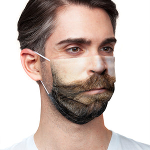Hipster Beard Adult Main/Model View