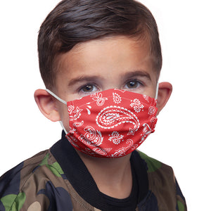 Red Paisley Kids Main Model View