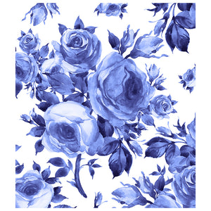Load image into Gallery viewer, Blue Floral Pattern