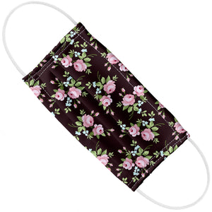 Small Pink Flowers Pattern Adult Flat View