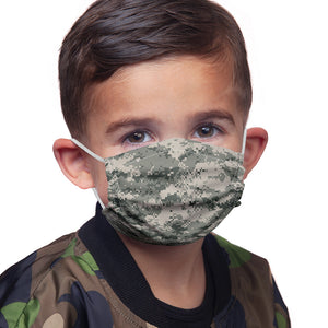 Digtal Camouflage Pattern Kids Main Model View