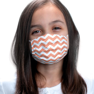 Coral Chevron Pattern Kids Main Model View