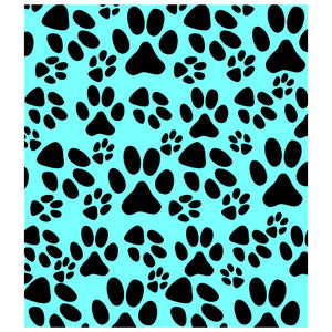 Load image into Gallery viewer, Dog Paws Print Pattern