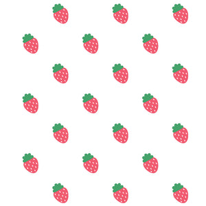 Load image into Gallery viewer, Strawberry Pattern Kids Mask Design Full View
