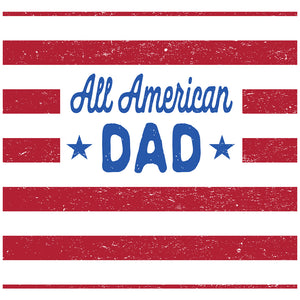 All American Dad Adult Mask Design Full View
