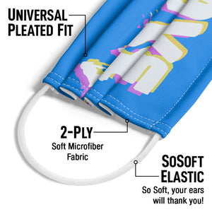 Rave Melt Adult Universal Pleated Fit, 2-Ply, SoSoft Elastic Earloops