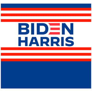 Biden Harris Logo Adult Mask Design Full View