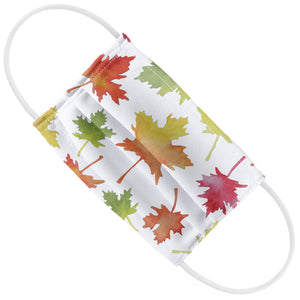 Watercolor Leaf Pattern Kids Flat View