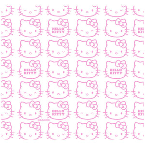 Hello Kitty Expressions Pattern Adult Mask Design Full View