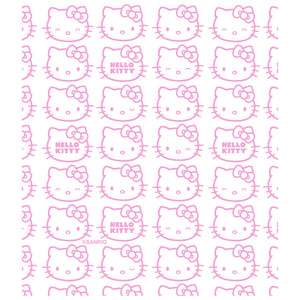 Hello Kitty Expressions Pattern Kids Mask Design Full View