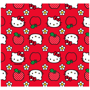 Hello Kitty and Apples Pattern Adult Mask Design Full View