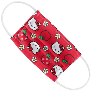 Hello Kitty and Apples Pattern Kids Flat View