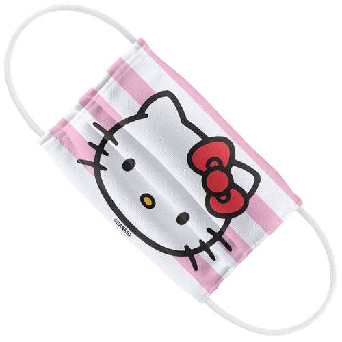 Hello Kitty Face and Stripes Kids Flat View