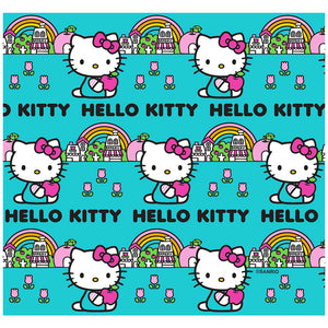Hello Kitty Rainbow Pattern Adult Mask Design Full View
