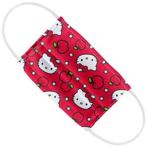 Hello Kitty Apples Pattern Kids Flat View