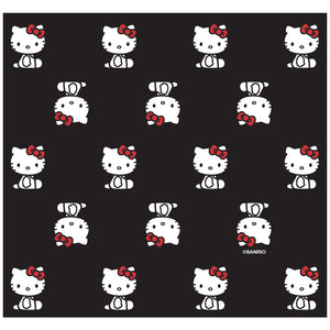 Hello Kitty Sitting Pattern Adult Mask Design Full View