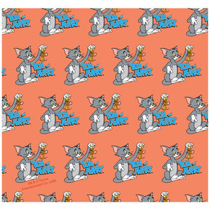Load image into Gallery viewer, Tom and Jerry Best Friends Pattern Adult Mask Design Full View