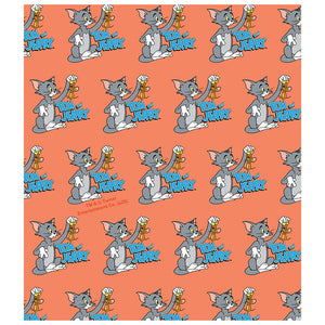 Load image into Gallery viewer, Tom and Jerry Best Friends Pattern Kids Mask Design Full View