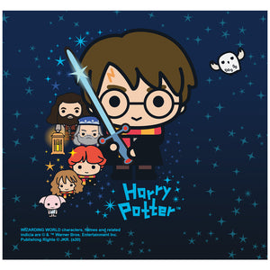 Harry Potter Charming Chibi Cast Adult Mask Design Full View