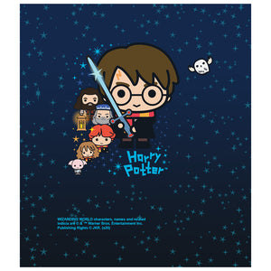 Harry Potter Charming Chibi Cast Kids Mask Design Full View