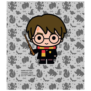 Harry Potter Harry Chibi and Pattern