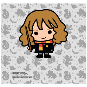 Harry Potter Hermione Chibi and Pattern Adult Mask Design Full View