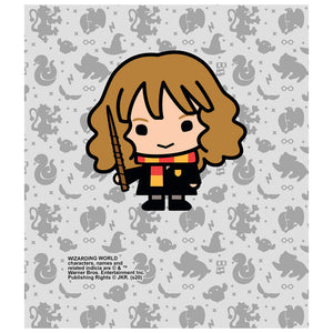 Harry Potter Hermione Chibi and Pattern Kids Mask Design Full View