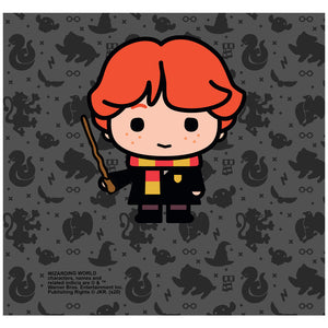 Harry Potter Ron Chibi and Pattern Adult Mask Design Full View