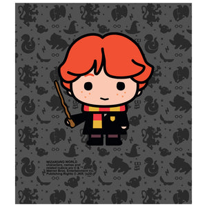 Harry Potter Ron Chibi and Pattern Kids Mask Design Full View