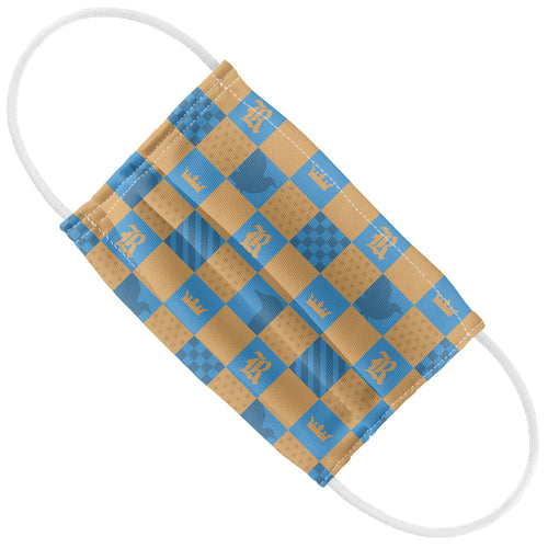 Harry Potter Ravenclaw Checkerboard House Pattern Kids Flat View