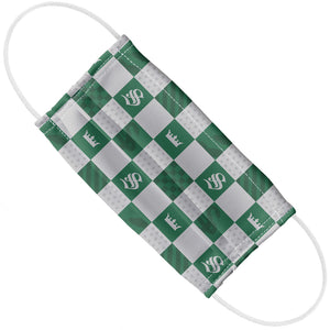 Harry Potter Slytherin Checkerboard House Pattern Adult Flat View