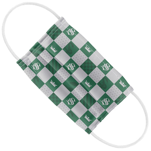 Harry Potter Slytherin Checkerboard House Pattern Kids Flat View