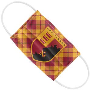 Load image into Gallery viewer, Harry Potter Gryffindor Plaid Logo Kids Flat View