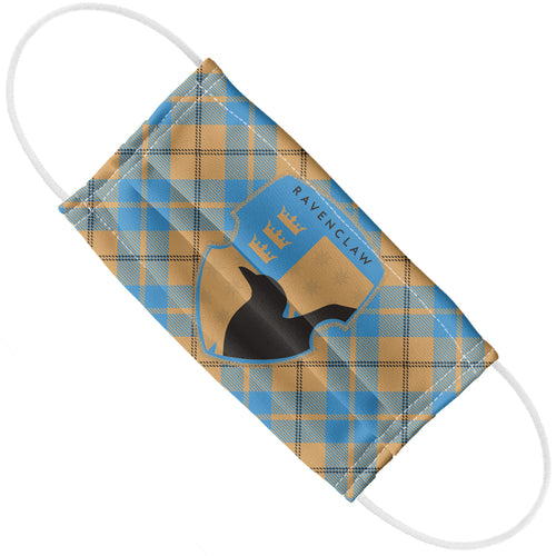 Harry Potter Ravenclaw Plaid Logo Adult Flat View