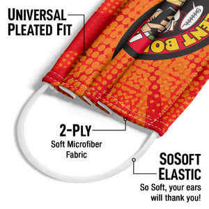 Jay and Silent Bob Secret Stash Adult Universal Pleated Fit, 2-Ply, SoSoft Elastic Earloops