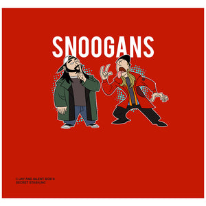 Jay and Silent Bob Snoogans Adult Mask Design Full View