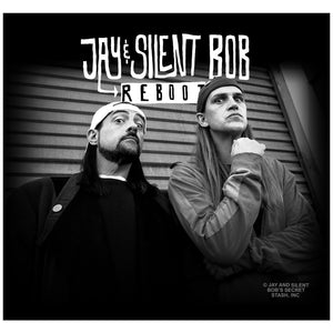 Jay and Silent Bob Reboot Photo Adult Mask Design Full View