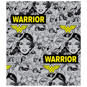 Load image into Gallery viewer, Wonder Woman Warrior Pattern Kids Mask Design Full View
