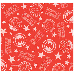 Justice League Athletic Logo Pattern